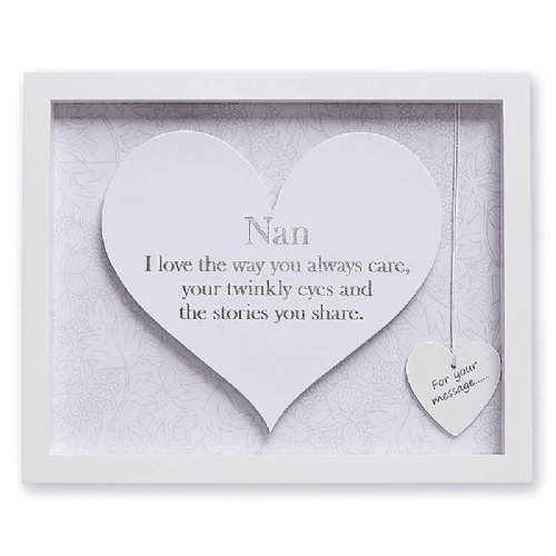 Said With Sentiment Heart Frame NAN